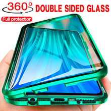 Double Sided Glass Magnetic Case for Samsung Galaxy A12 A11 A31 A50 A51 A70s A71 A81 S8 S9 S10 S21 Plus S20 FE M21 M31 M51 Cover