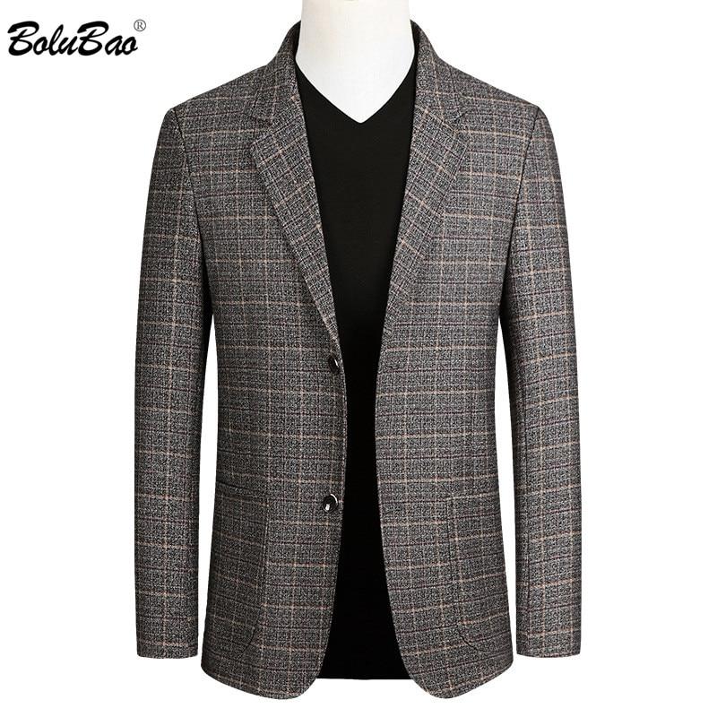 BOLUBAO Fashion Brand Men Casual Blazers Autumn New Men's Slim Fit Trend Suit High Quality Business Wild Blazer Male