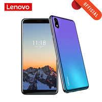 Lenovo Smartphone A5S 5.45 pouces MTK6761 Quad Core téléphone portable 2GB 16GB Android 9.0 visage déverrouiller 4G téléphone 3000mAh