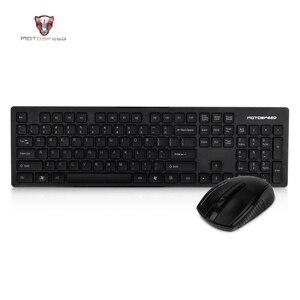 Image 2 - Motospeed G4000 2.4G لوحة مفاتيح وماوس لاسلكية كومبو بيئة العمل USB 2.0 1000 ديسيبل متوحد الخواص الماوس 104 مفاتيح المجلس