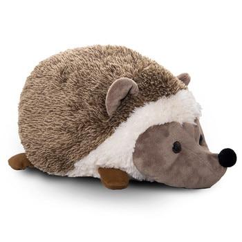 Fancytrader 28'' Large Soft Simulated Animal Hedgehog Plush Toy Stuffed Cartoon Hedgehogs Doll Pillow Kid Gift 70cm
