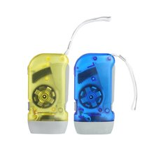 Portable 3 LED Dynamo Wind Up Flashlight Hand-pressing Crank NR No Battery Torch Hot Sale Outdoor Tool