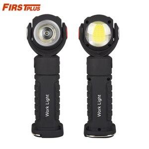 Luz de emergência externa de carro, luz de inspeção de carro, luz para acampamento, trabalho manual, lâmpada rotativa, com ímã
