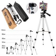 35 106Cm Multifunctionele Professionele Camera Statief Houder En Telefoon Statief Stabilizer 2 In 1 Verstelbare + Draagbare + opvouwbare