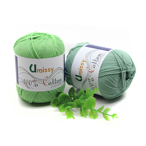 Image 4 - Fils à tricoter 100% coton, 10 pièces, fil Crochet pour tricot, Anti boulochage 500 g/ensemble