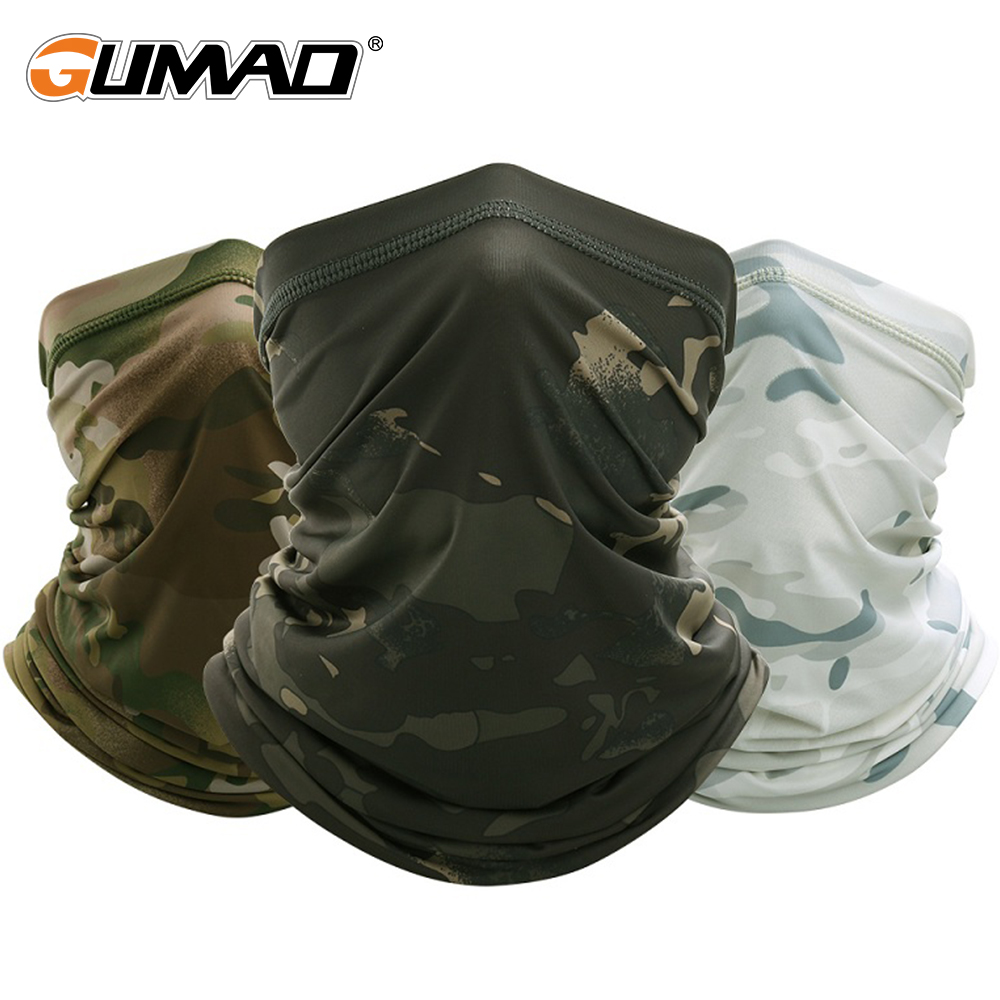 Army Tactical Bandana Military Face Head Tube Scarf Skin friendly Mask Smooth Hiking Cycling Running Neck Gaiter Cover Warm Men|Cycling Face Mask| - AliExpress