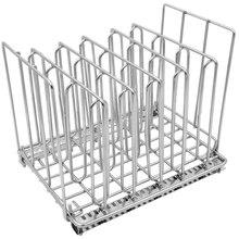 Sous Vide контейнер Rack-хромированные разделители из нержавеющей стали(5) водяная Ванна аксессуары для приготовления пищи отделяет пластиковые пакеты для Pe