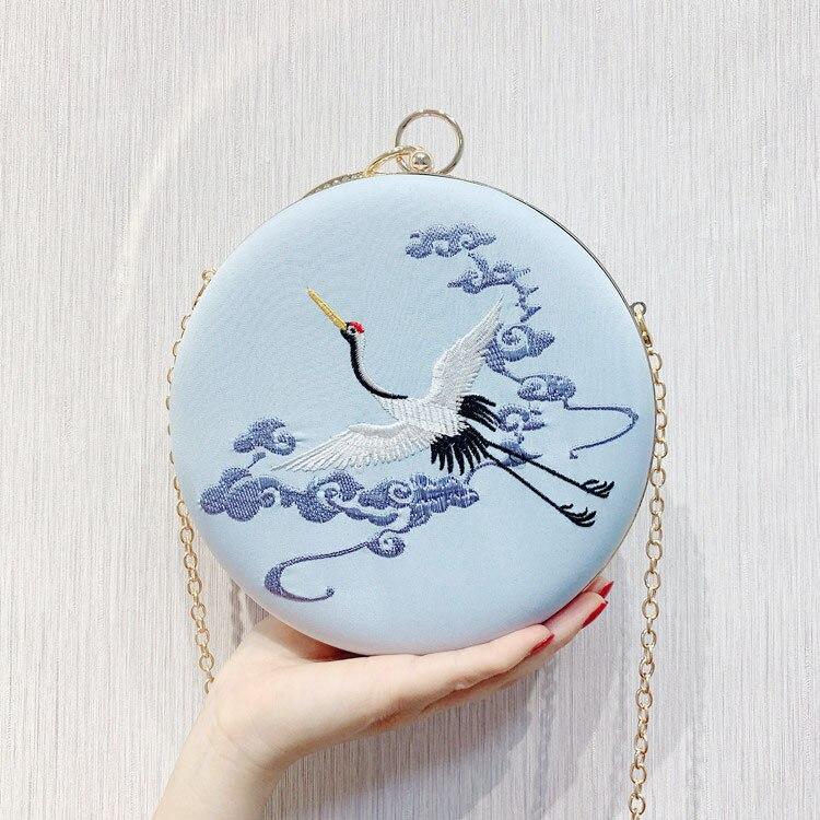Сумка-мессенджер с вышивкой Cheongsam, китайская ручная сумка с вышивкой, новинка, ручная сумка, вечерние сумки - Цвет: 04