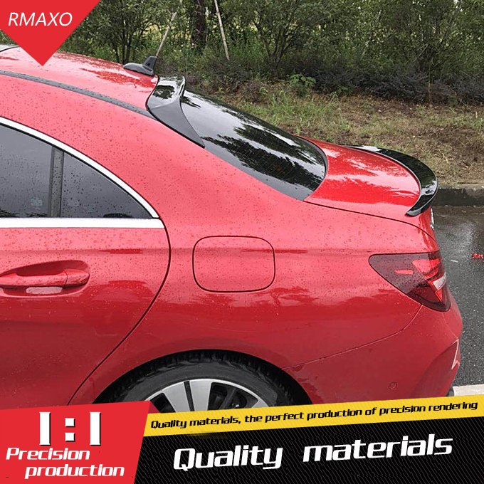 For Benz W117 CLA Roof <font><b>Spoiler</b></font> ABS Car Rear Wing <font><b>Spoiler</b></font> For Benz W117 <font><b>CLA200</b></font> CLA220 CLA260 AMG CLA45 <font><b>Spoiler</b></font> 2015-2018 image