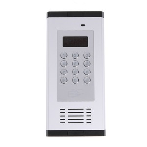 Image 1 - Access Control Alarm System 3G GSM Intercom Supports RFID Card for apartment working for 200 room owners K6