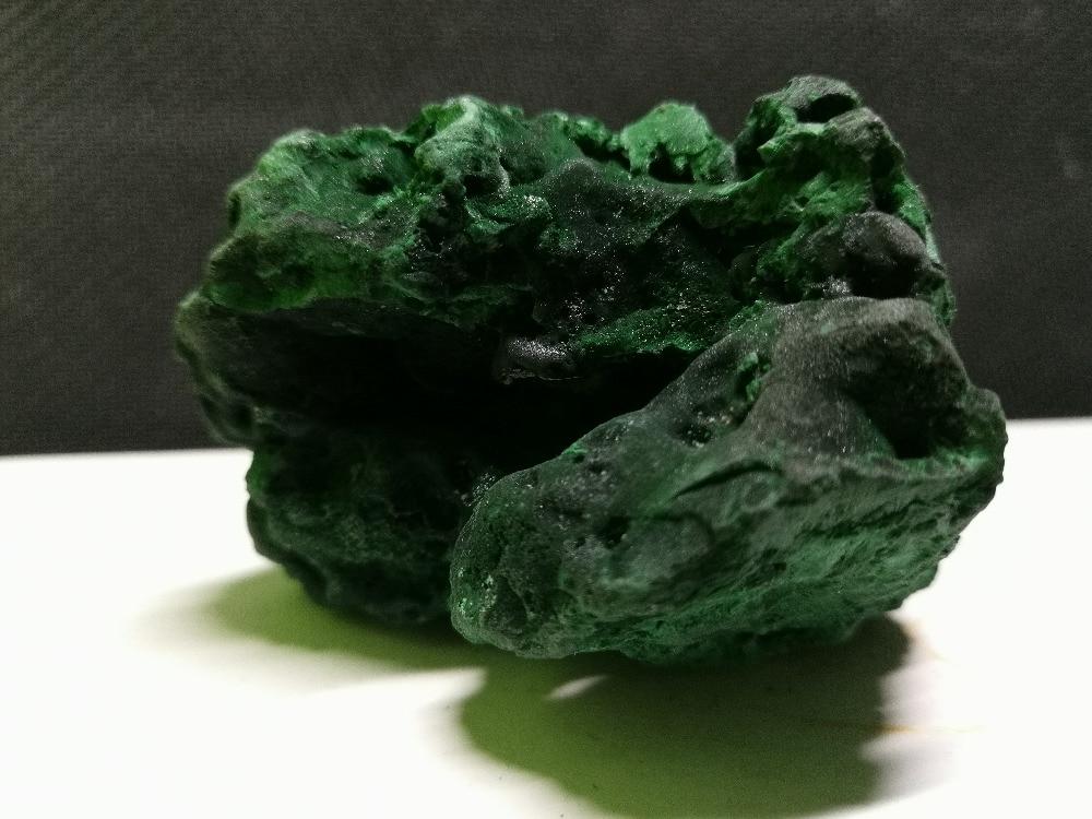 Cristal natural da amostra mineral da malaquita