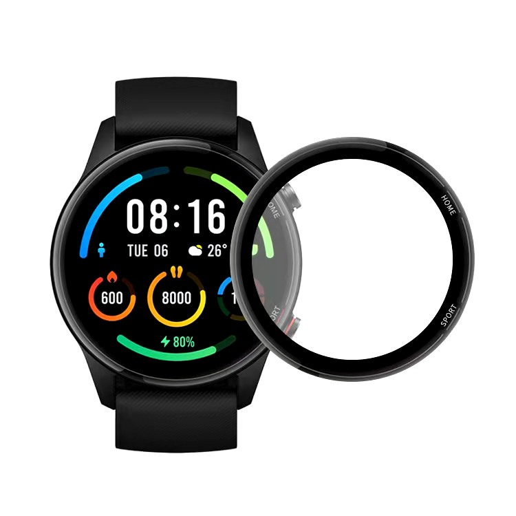 Soft-Protective-Film Smartwatch Color Sports-Version Xiaomi 3D for Full-Edge