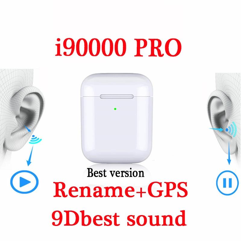 2020 I90000 Pro Tws Rename GPS I 90000 Max Pro Wireless Bluetooth Mini Stereo Elari Earphone Earbuds Pk I9000 I50000 I500 I14