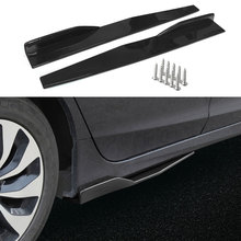 Splitters Skirt Diffuser Car-Side Winglet Universal Rocker Auto Ce 1-Pair Blade Car-Accessories