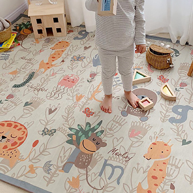 Baby Crawling Mat Playmat Carpet Thick Foam Mat Developing Infant Toddler Room Decor Washable Portable  BXX019