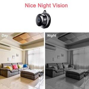 Image 3 - Small P2P Full HD 1080P Mini Wireless WIFI IP Camera Night Vision Mini Camcorder Kit for Home Security CCTV Micro camera Wirless