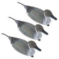 3 個 3D 軽量フローティングおとり狩猟デコイアヒルデコイ狩猟餌ガーデンデコレーション飾りリアルなオナガアヒル