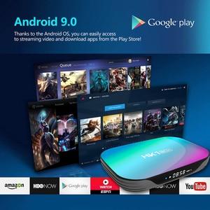 Image 5 - HK1 박스 8K 최대 4 기가 바이트 128 기가 바이트 TV 박스 Amlogic S905X3 안드로이드 9.0 스마트 TV 박스 4K 1000M 듀얼 와이파이 구글 플레이 스토어 유튜브 셋톱 박스