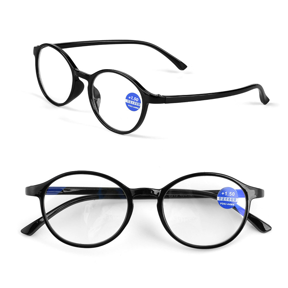 Classic Unisex Reading Glasses Anti Blue Rays Presbyopia Eyeglasses Antifatigue Computer Eyewear With Strength+1.00~+4.00