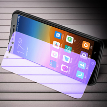 OriWood For Xiaomi Redmi 4 4A Pro 3 3S 3X Full Cover 9H Anti Blue Tempered Glass Anti-blue Purple Light Screen Protector Film