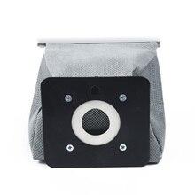 1 шт. тканевый мешок для пыли Многоразовые Пакеты для пылесоса 11*10 см практичный Универсальный