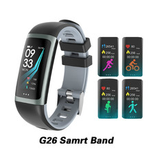 G26 Smart Bracelet P67 Waterproof Heart Rate Blood Pressure Oxygen Fitness Multi Sport Mode color For Apple Iphone