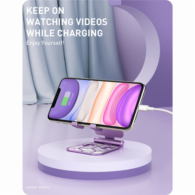 Adjustable Cell Phone Stand Holder Phone Dock Multi Angle Compatible with Smart Phone For iPhone For Android Smartphone 6