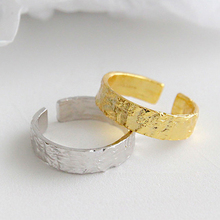 Women's Ring Irregular Bump Gold/Siver Color Adjustable Female Party Open Vintage Rings Accessories Fashion Simple Style RF4