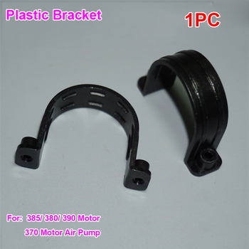 1PC Plastic mounts bracket fixed bracket hoop plastic hoop bracket high strength For 385/ 380/ 390 motor/ 370 air pump image