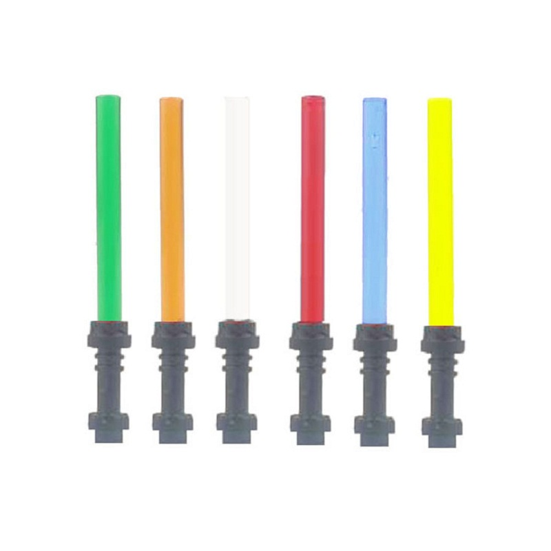 Star Wars arme sabre laser pour la guerre de l'espace Figure Clone Wars Minifigs accessoire bloc de construction brique assembler (lot de 10)