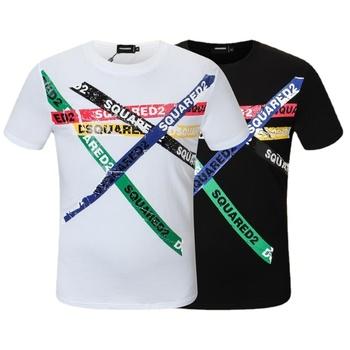 Białe koszulki męskie letnie koszulki z krótkim rękawem czarne koszulki w stylu Casual koszulki nowe męskie bawełniane Fit O-Neck wysokiej jakości koszule 3XL tanie i dobre opinie CLASSDIM Daily SHORT CN (pochodzenie) COTTON summer Na co dzień Z okrągłym kołnierzykiem tops Z KRÓTKIM RĘKAWEM Sukno