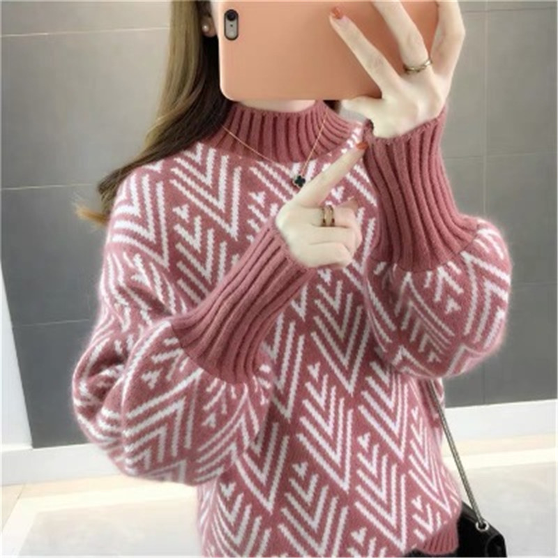 Autumn and winter sweater women 2020 new fashion loose lazy sweater women's tops