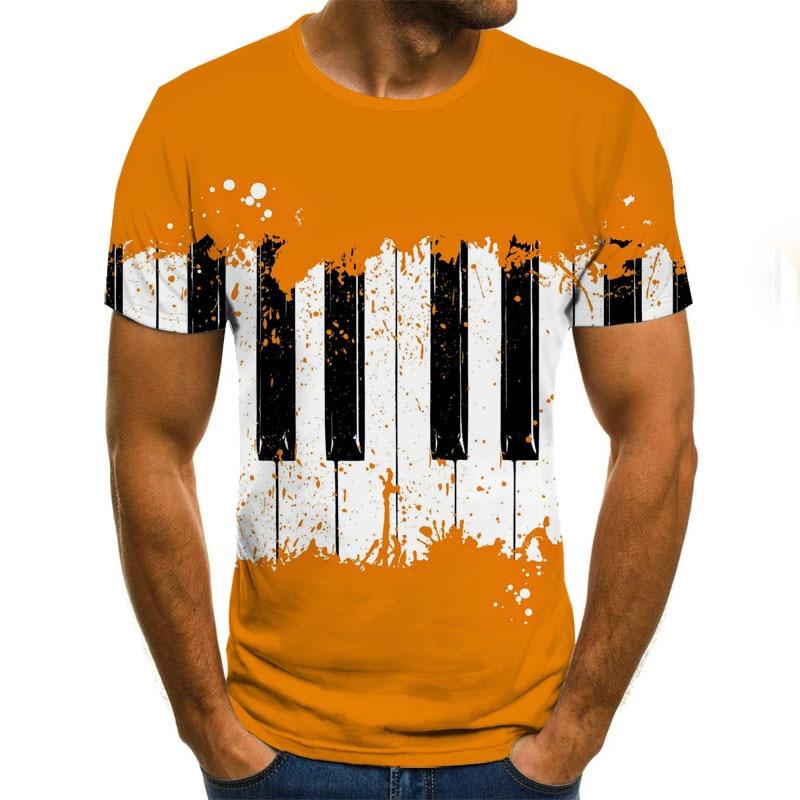 2020 New 3D Skull T-shirt Punk T Shirt Men Printed Casual Tshirt O Neck Hip Hop Short Sleeve Size XXS-6XL