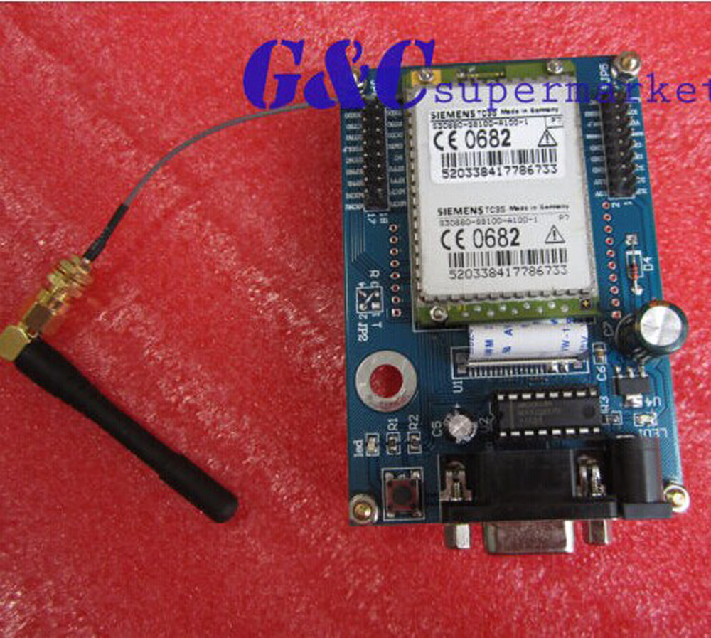 Módulo inalámbrico GSM TC35 SMS UART/232diy, kit electrónico, accesorios, condensador de Tántalo de placa compatible Módulo SFP RJ45 interruptor gbic 10/100/1000 conector SFP cobre módulo RJ45 SFP puerto Gigabit Ethernet