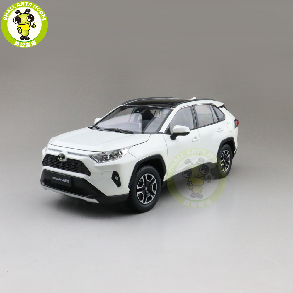 1/18 All New RAV4 Diecast SUV Car Model Toys For Gifts Collection Hobby