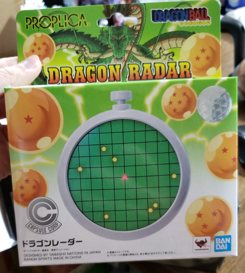 Original Banpresto Dragon Ball Dragon Radar Proplica Version Action Figure Figurals Model Dolls Brinquedos