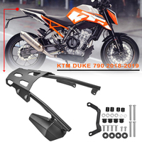 DUKE790 18 19 20 Accessories Rear Luggage Rack Carrier Mount Fender Support for KTM DUKE 790 2018 2020 Cargo Holder Shelf