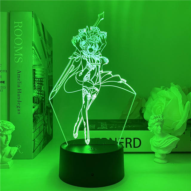 EULA GENSHIN IMPACT 3D LED LIGHT