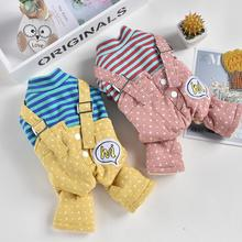 Jacket Jumpsuit Coat Dogs New Warm for Cats Small Medium Rompers Pet-Puppy-Hoodie Stars