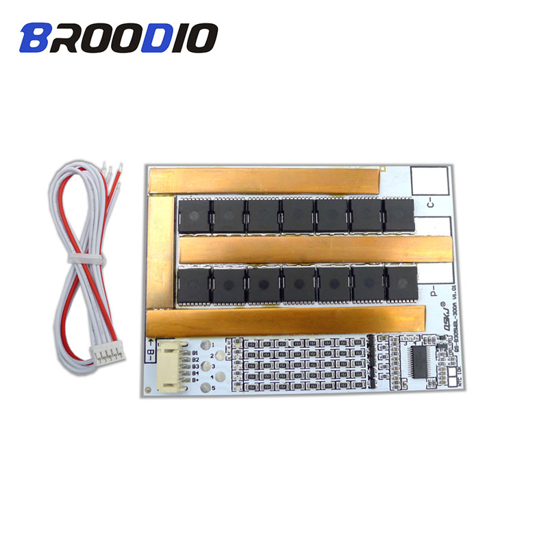 BMS 5S 130A 200A 300A 3.7V 18650 Battery Protection Circuit Board Lithium Charger Plate For Car Motor Battery 5S BMS Accessories|Battery Accessories| |  - title=