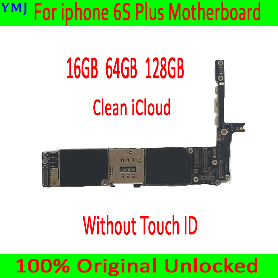 16GB/64GB/128GB for <font><b>iphone</b></font> <font><b>6S</b></font> Plus Motherboard without <font><b>Touch</b></font> <font><b>ID</b></font>,Original unlocked for <font><b>iphone</b></font> <font><b>6S</b></font> Plus <font><b>Logic</b></font> <font><b>board</b></font>,<font><b>with</b></font> IOS System image