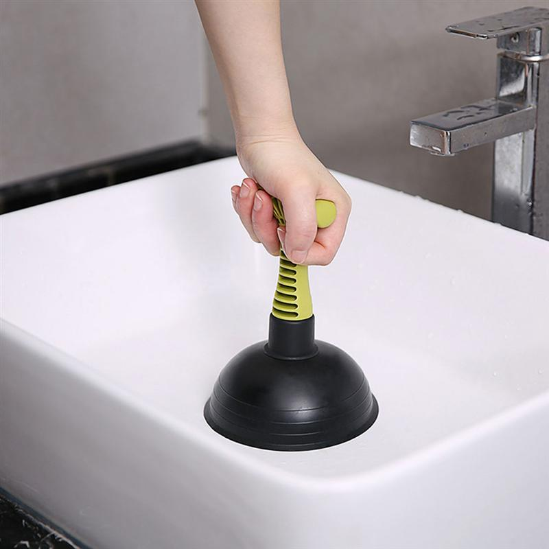 Toilet Plungers Household Sink Drain Pipe Pipeline Dredge Suction Cup Toilet Plungers Powerful High-pressure Toilet Dredge