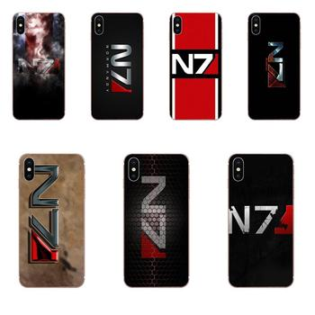 Greatest Mass Effect N7 Armour For Samsung Galaxy Note 5 8 9 S3 S4 S5 S6 S7 S8 S9 S10 5G mini Edge Plus Lite Soft Case Cover image