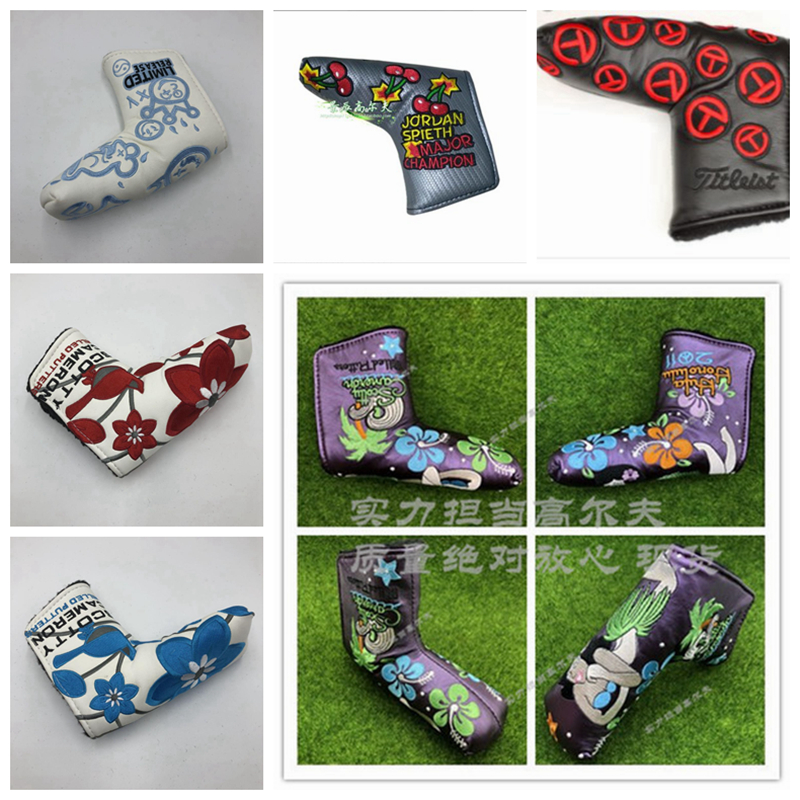 TlTLElST PUTTER HEADCOVER Tour Shop Cameron Limited Release Scotty Putter Custom HEADCOVERS Putter Bat Spider Man Batman Spid