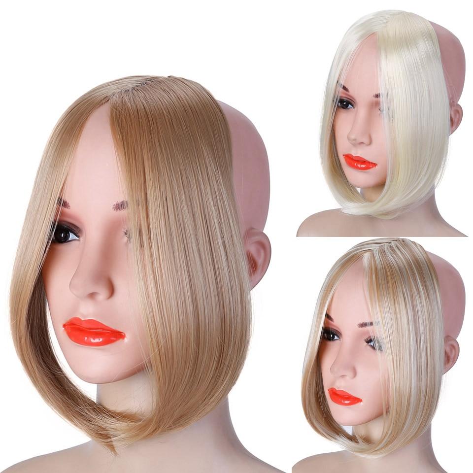 Длинная челка с зажимом спереди волосы челка с боковой бахромой наращивание волос натуральные синтетические челки аксессуары для волос дл...