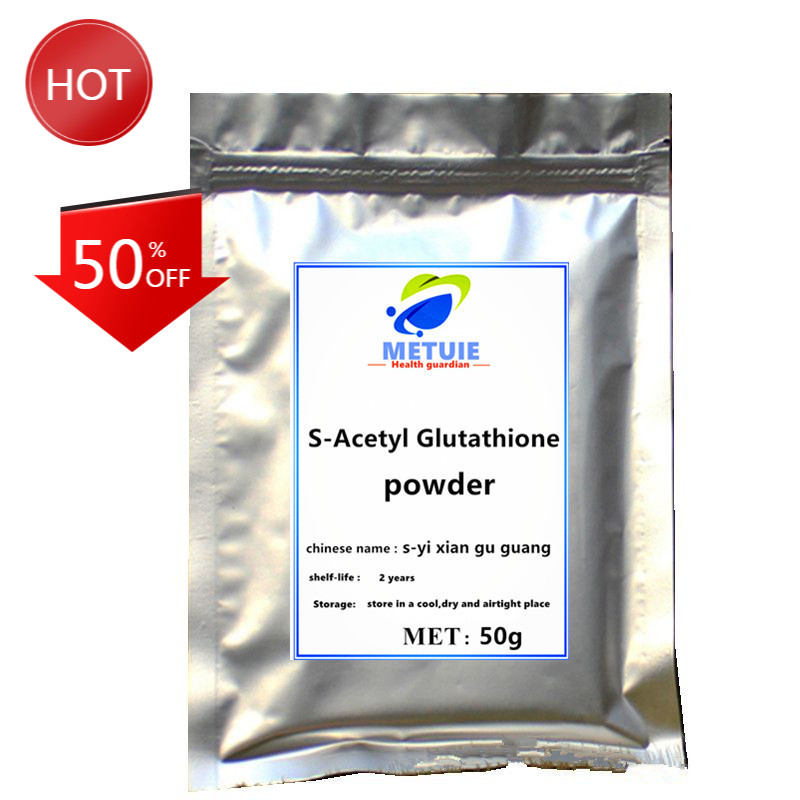 High Quality S-Acetyl-L-Glutathione Powder (GSH) skin Care Skin Whitening supplement Face Antioxidant Such As Vitamins C and E