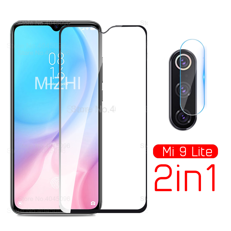 2in1 protective glass for <font><b>xiaomi</b></font> <font><b>mi9</b></font> lite <font><b>camera</b></font> lens film screen <font><b>protector</b></font> on xiomi xaomi xiami mi 9 lite 9lite mi9lite film image