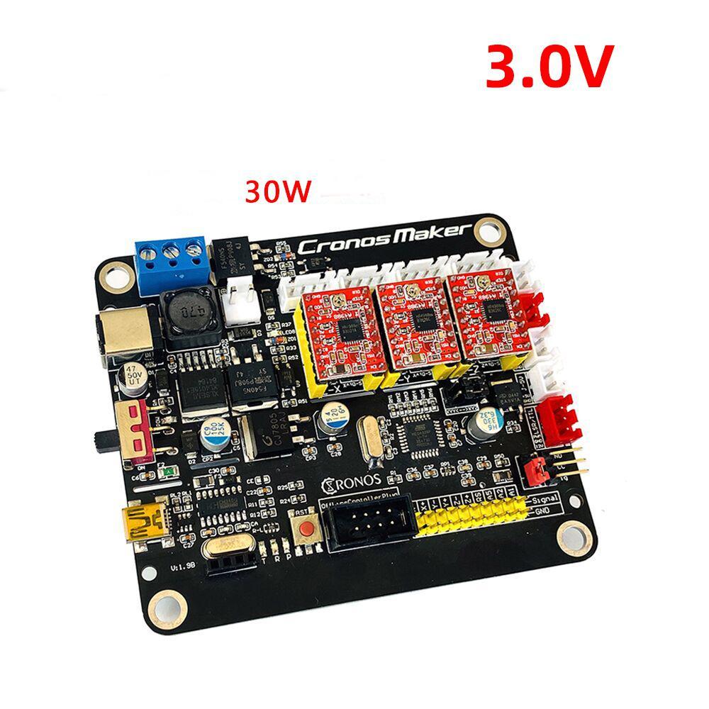 GRBL CNC Controller Control Board 3 Achsen Schrittmotor Verbinden Zu 300W Spindel USB Fahrer Board für CNC Gravur