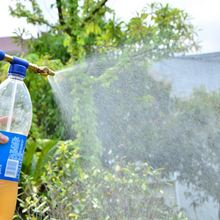 Ручная пушка мини Бутылки для воды Пластик разбрызгивающая головка
