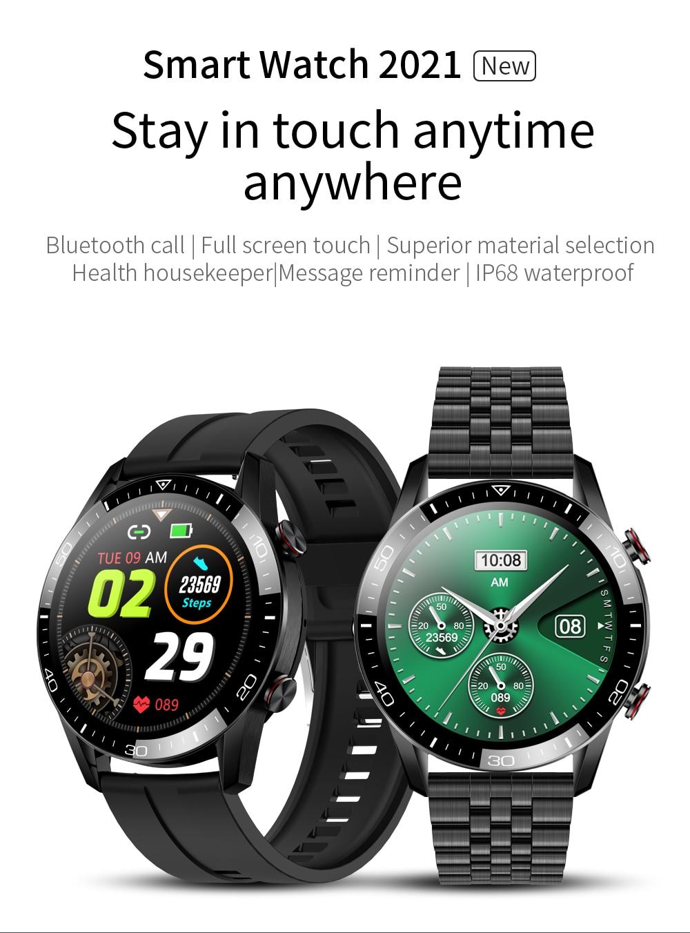 H1351d19cf7114580b28b0092ac58ef1ba New Smart Watch Men Bluetooth Call TK2-8 IP68 Waterproof Heart Rate Blood Pressure SmartWatch Fitness Tracker Sports Android IOS